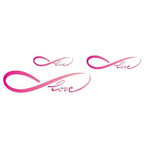 Estêncil para Pintura Simples 10x30 Infinito Love - Opa1724 - Opa