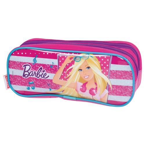 Estojo Barbie 16m Plus 63853 Rosa