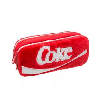 Estojo Coca-Cola Plush Vermelho T Un