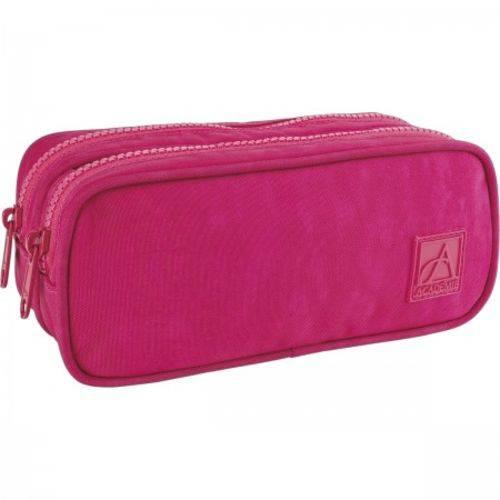 Estojo Duplo Academie Pink Tilibra
