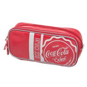 Estojo Duplo Coca-Cola Collegiate - U