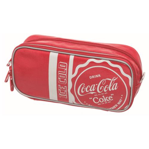 Estojo Duplo Coca-Cola Collegiate