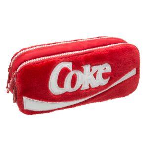 Estojo Duplo Coca-Cola Plush - U