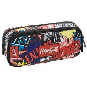 Estojo Duplo Coca-Cola Pop - U