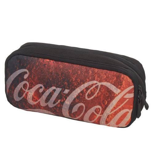 Estojo Duplo Coca Cola Refreshing