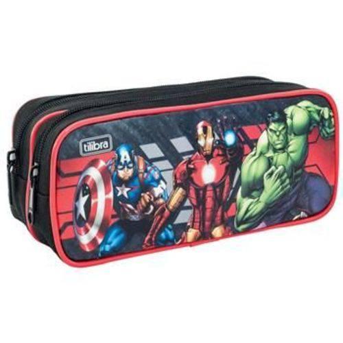 Estojo Duplo Grande Avengers