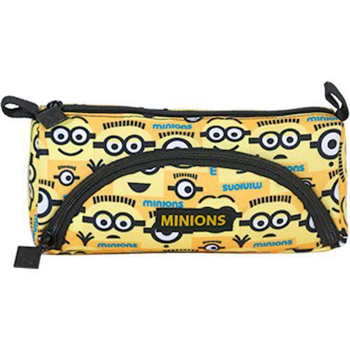 Estojo Duplo Minions T1 - 8241 - Artigo Escolar - Único