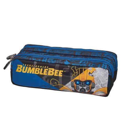 Estojo Duplo Transformers Bumblebee Spliced 933w17 Pacific