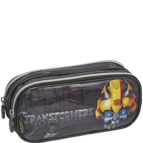 Estojo Duplo Transformers Strong Bumblebee 933M14 - Pacific
