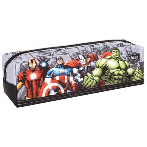 Estojo Escolar Avengers Tilibra 149012