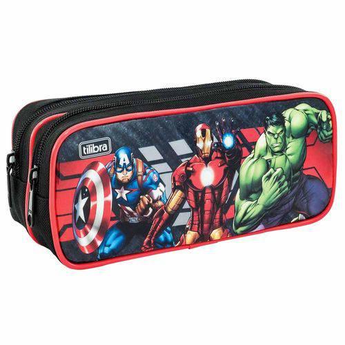 Estojo Escolar Avengers Tilibra 149179