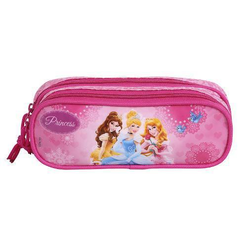 Estojo Escolar Duplo 60396/16 - Princesas - Dermiwil