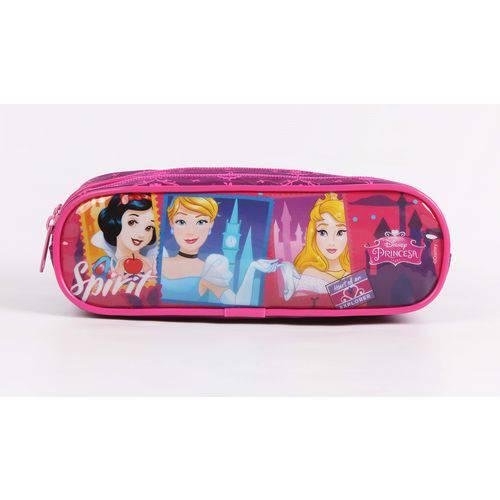 Estojo Escolar Duplo Princesas Disney Dermiwil