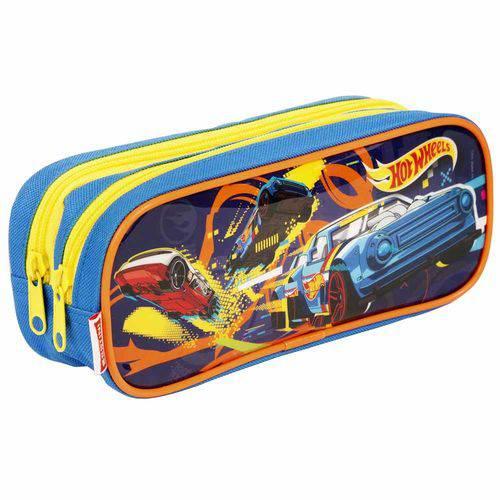 Estojo Escolar Hot Wheels Sestini 065238