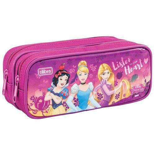 Estojo Escolar Princesas Disney Duplo 149071 – Tilibra