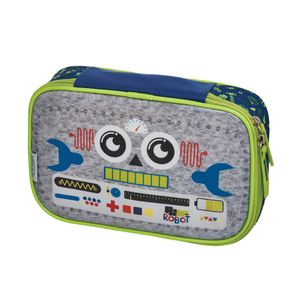 Estojo G C/Divisoria Pack me Robot - U