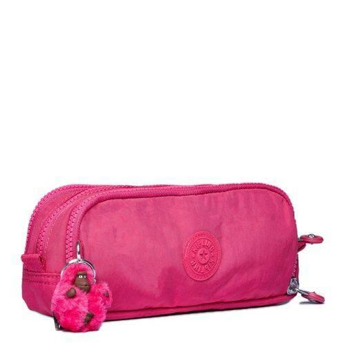 Estojo Gitroy Rosa Pink Kipling