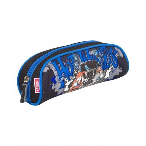 Estojo Infantil Sestini Simples 16Y01 Azul Hot Wheels