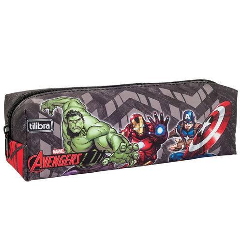 Estojo Médio Avengers - Tilibra