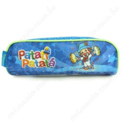 Estojo Patati Patata Pandeiro Azul Pacific