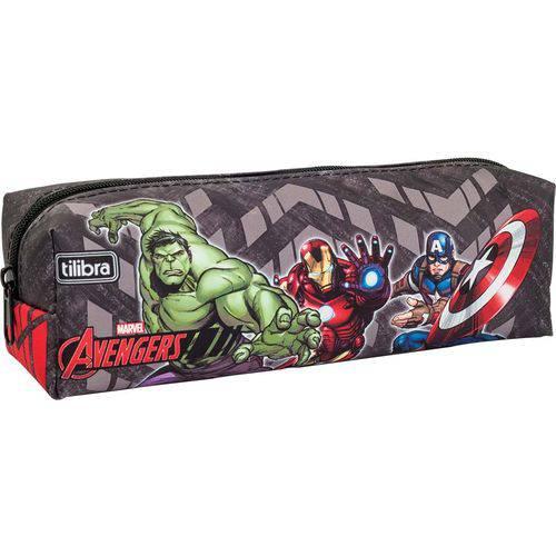Estojo Simples Avengers Tilibra