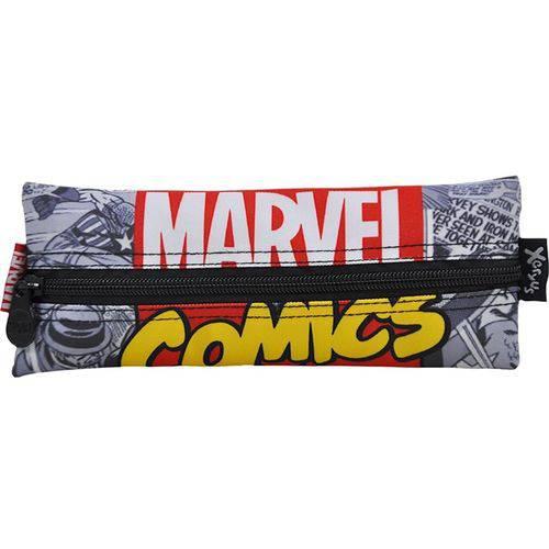 Estojo Simples Infantil Marvel Comics - Ref: 8096 - Xeryus