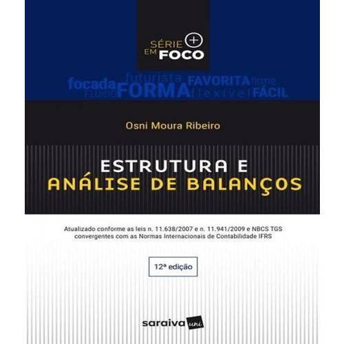 Estrutura e Analise de Balancos - 12 Ed