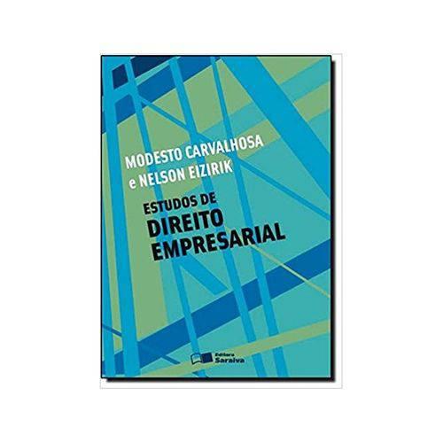 Estudos de Direito Empresarial 1ªed. - Saraiva