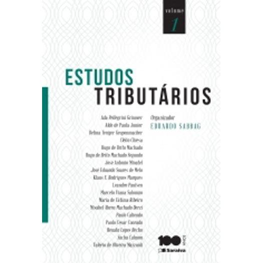 Estudos Tributario - Saraiva
