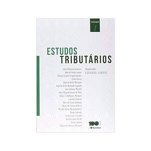 Estudos Tributários 1ªed. - Saraiva