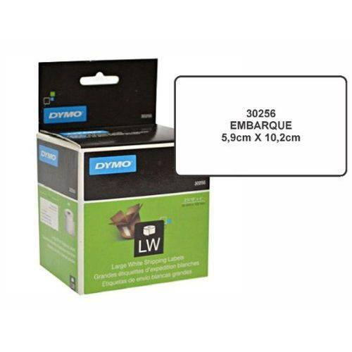 Etiqueta P/ Impressora Dymo Térmica 5,9x10,2mm C/ 260 Unid Ref.30256