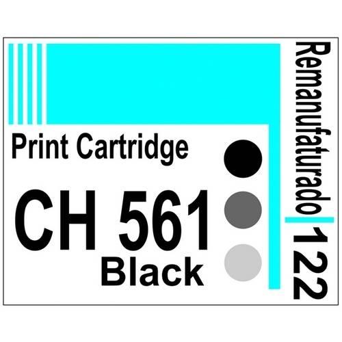 Etiqueta para Cartucho Hp122 Black (Ch561) - 10 Unidades