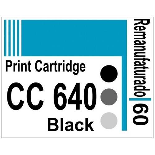 Etiqueta para Cartucho Hp60 Black (Cc640) - 10 Unidades