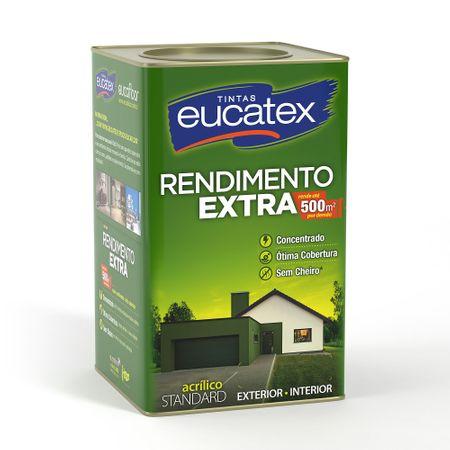 Tinta Eucatex Acrílico Rendimento Extra Fosco Branco