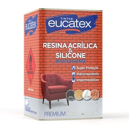 Eucatex Resina Acrílica Premium Brilho Incolor 18 Litros 18 Litros