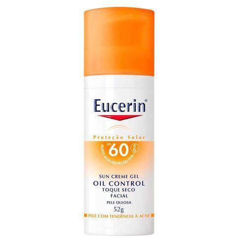 Eucerin Sun Creme-Gel Oil Control Toque Seco FPS60 52g