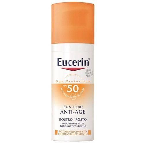 Eucerin Sun Fluído Anti-age Facial Fps 50 50g