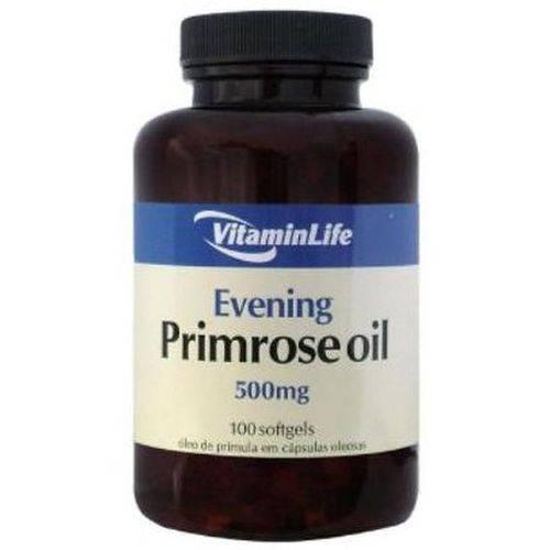 Evening Primrose Oil (óleo de Prímula) 500 Mg (100caps) - Vitaminlife