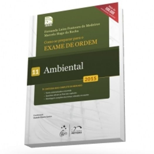 Exame de Ordem - 1 Fase - Ambiental - Vol 11 - Metodo