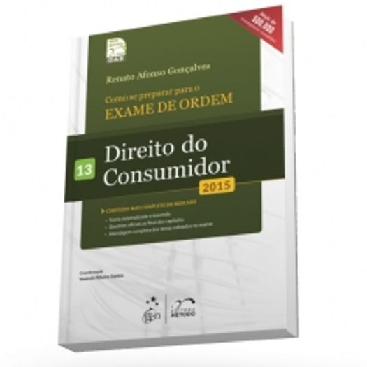 Exame de Ordem - 1 Fase - Direito do Consumidor - Vol 13 - Metodo