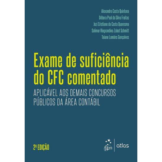Exame de Suficiencia do Cfc Comentado - Atlas