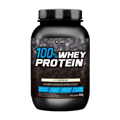 Exceed 100% Whey Baunilha 900g