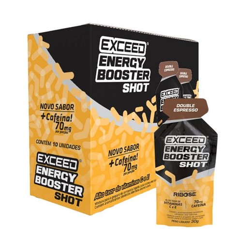 Exceed Energy Booster Double Espresso - 10 Sachês 30g