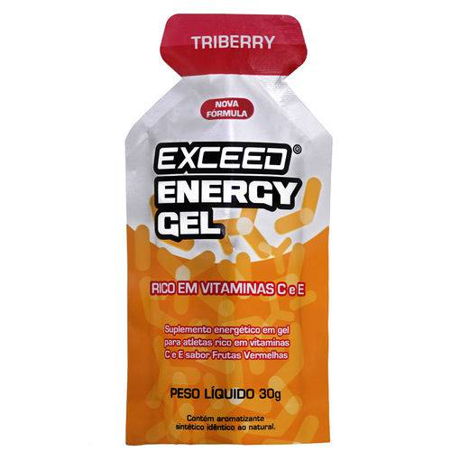 Exceed Energy Gel 30g- Triberry Punch