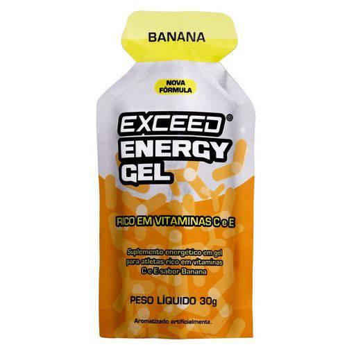 Exceed Energy Gel – 1 Sachê 30g - Banana