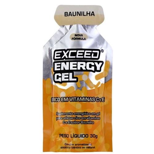Exceed Energy Gel – 1 Sachê 30g - Baunilha