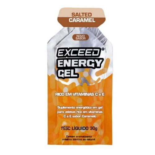 Exceed Energy Gel – 1 Sachê 30g - Salted Caramel