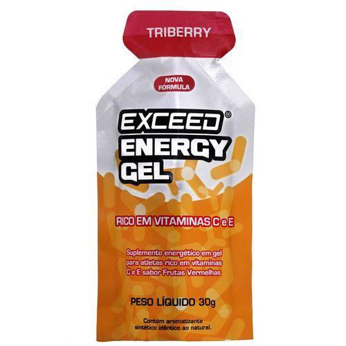 Exceed Energy Gel – 1 Sachê 30g - Triberry