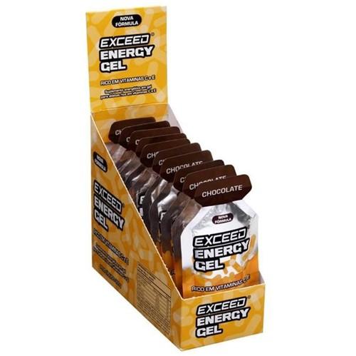 Exceed Energy Gel Chocolate – Caixa 10 Sachês