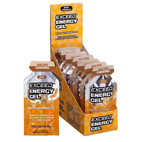 Exceed Energy Gel Salted Caramel – Caixa 10 Sachês